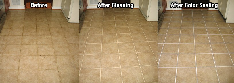grout cleaning color sealing ohio grout works