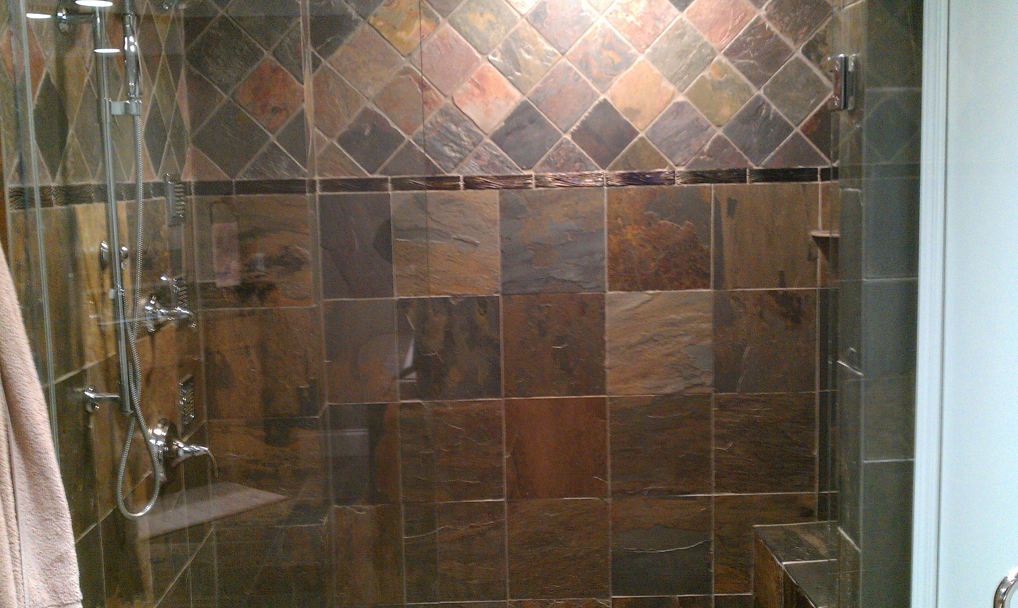 Natural stone care ohio grout works for Cleaning products for marble showers